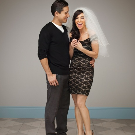 Mario Lopez Wedding Photo