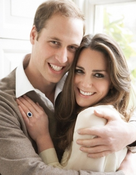 Will and Kate- ring
