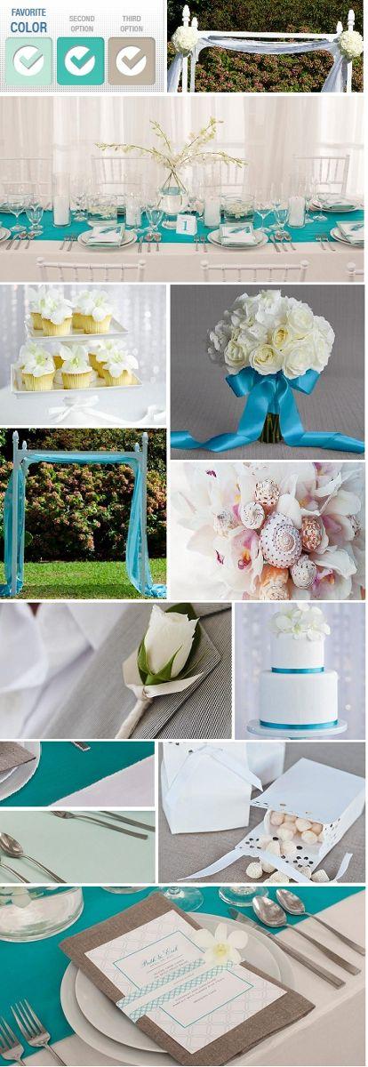 Sea Foam Wedding