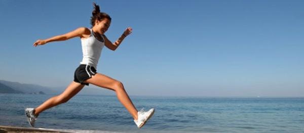 Sprinting on the Beach