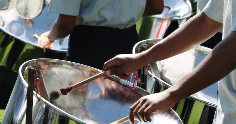 steel drum band wedding