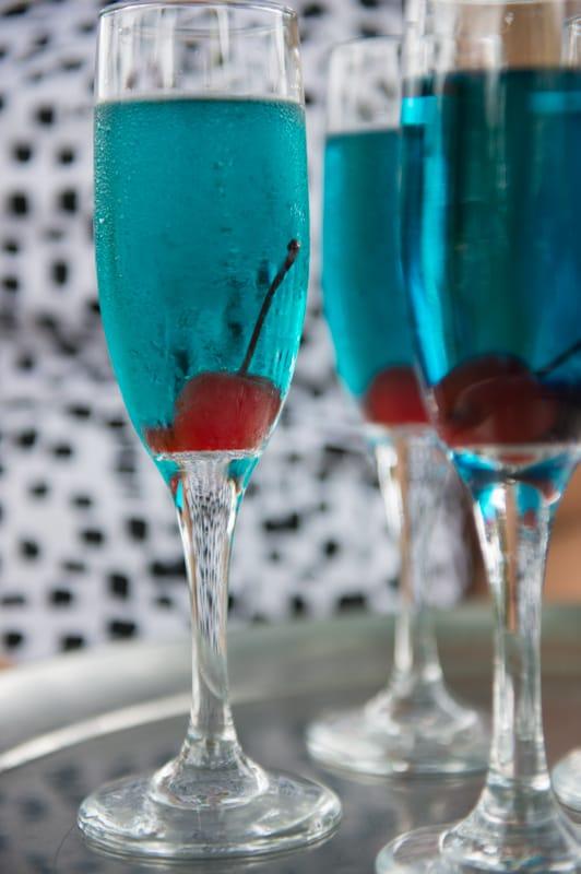 Blue Ice Signature Drink